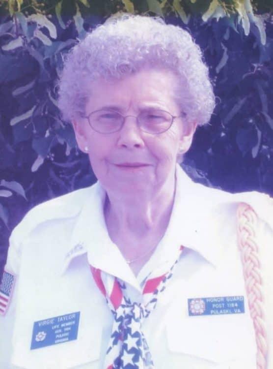 Obituary for Virgie Allene Taylor