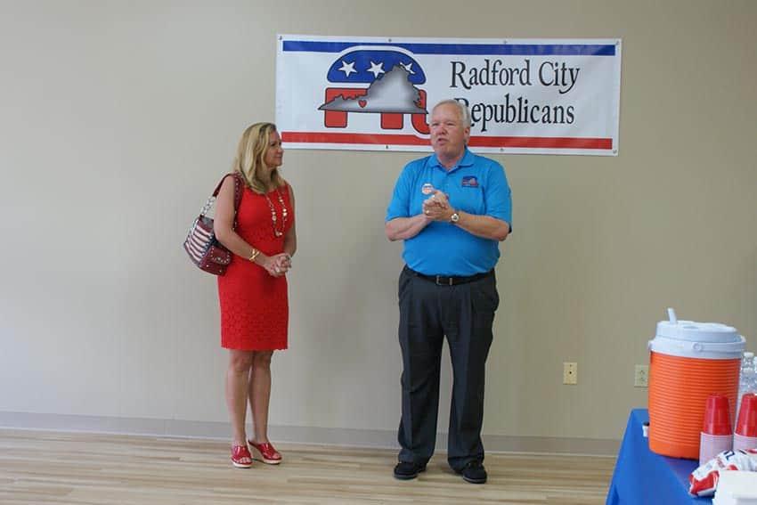 Radford Republicans open HQ in Fairlawn