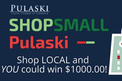 SHOP SMALL PULASKI: Shop Local and you could win $1,000