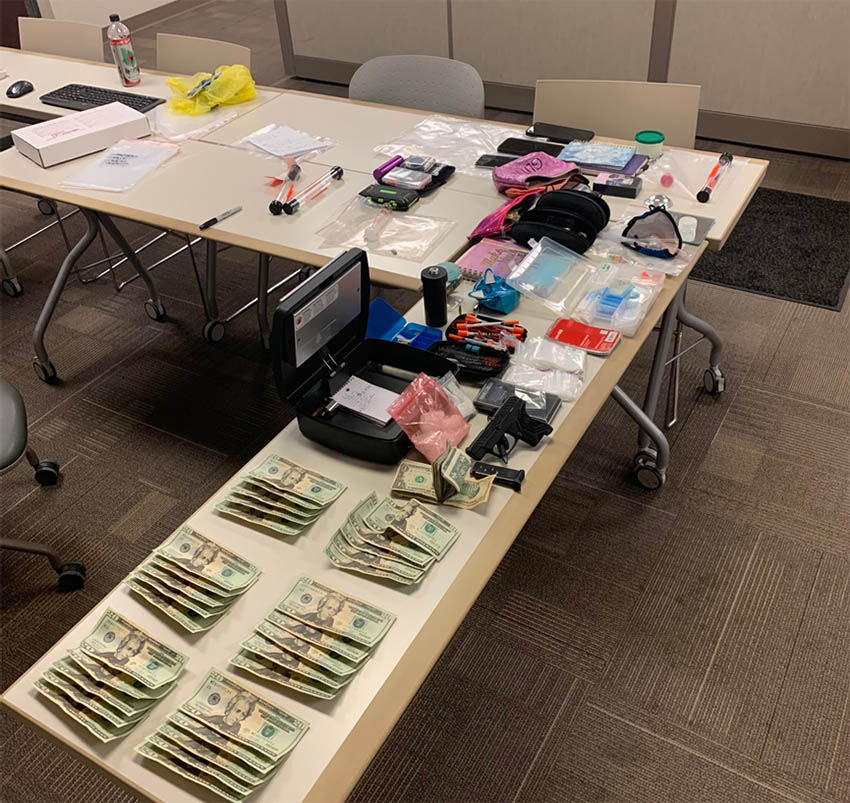 Three arrested in McCoy for drug, firearms charges