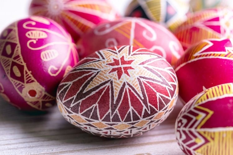 "Fine Art Center for the New River Valley Offers  May ""Second Saturday"" Workshop: Pysanky Eggs"