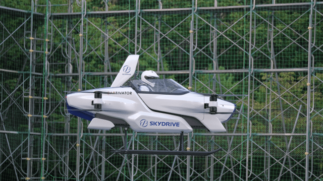 SkyDrive's SD-03 Is A More Car-Like Flying Car 2