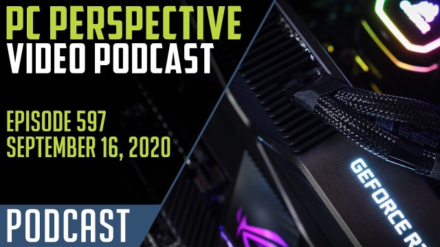 PC Perspective Podcast #597 – RTX 3080 Review, AMD RX 6000, PS5 Pricing, and Noir! 2
