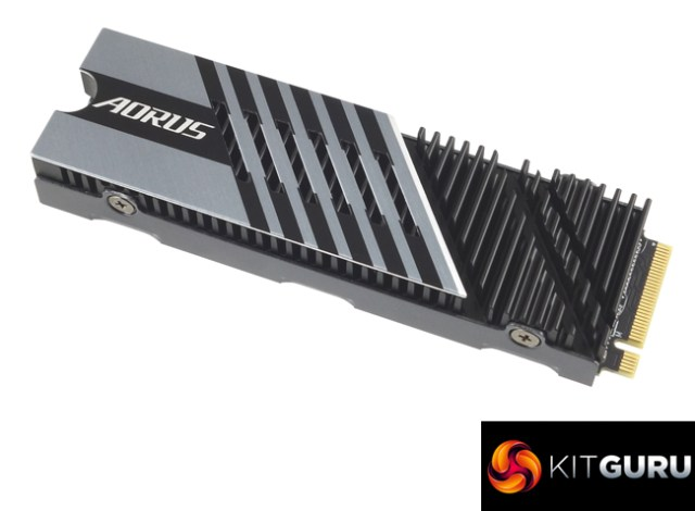 The Beefy Gigabyte Aorus 7000s PCIe 4.0 NVMe Drive 2