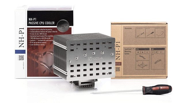 Noctua NH-P1 Fanless CPU Cooler Officially Available Today 2