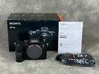 SONY a7 III NEAR MINT CONDITION SUPER LOW SHUTTER COUNT EXCELLENT VALUE