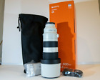 Sony FE 200-600mm F/5.6-6.3 G OSS Lens Used twice great shape with box
