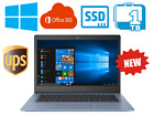 New 1TB 64GB SSD Business Laptop - with Office,PC Portable Windows 10 Computer