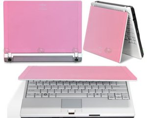 ordinateur portable rose