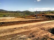 Extensive excavation