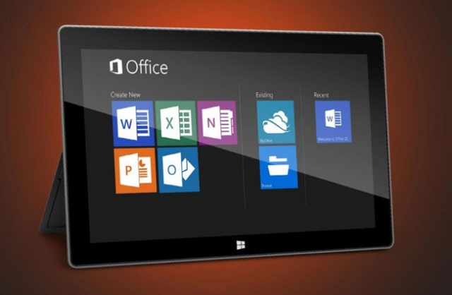 Office 2013 na tablet računaru