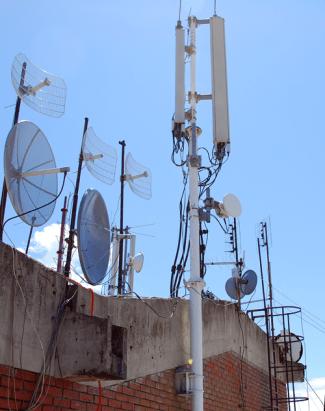 Antenski stub u Obrenovcu
