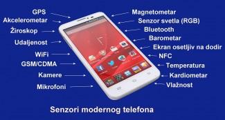 Senzori pametnih telefona