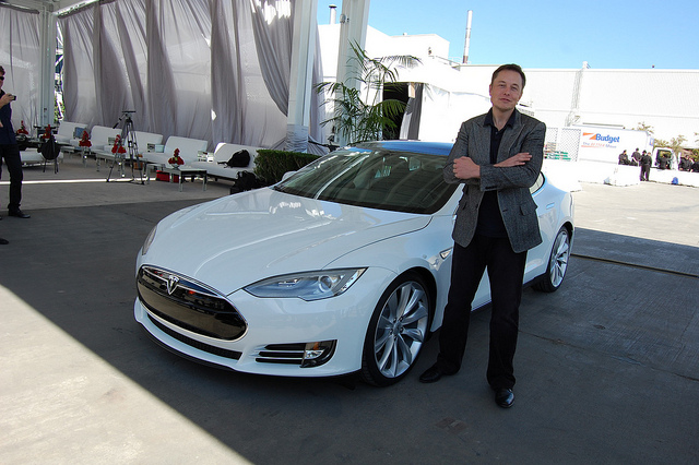 Elon Musk (Photo: pestoverde/Flickr)