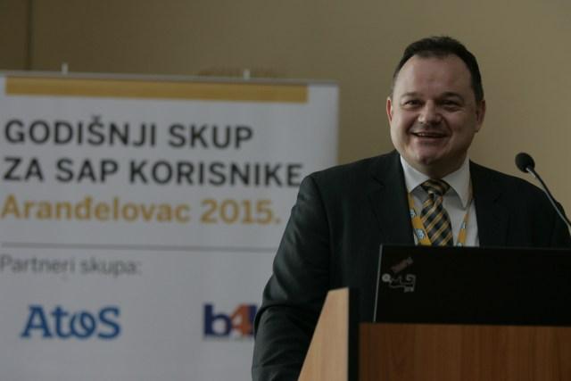 Vojislav Genić otvara godišnji skup za SAP korisnike