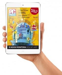 Posetite App Store, preuzmite aplikaciju PC PRESS i pogledajte kako naša izdanja izgledaju na iPad‑u pa zaključite šta je bolje – papir ili ekran. Nama se sviđaju oba, pošto od ovog novog početka pokrivamo i McLuhan‑ovu i Gutenberg‑ovu galaksiju!