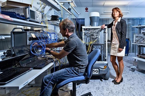 Ericsson 5G test laboratorija