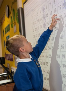 Each-classroom-at-Dunston-Hill-Primary-has-an-interactive-whiteboard