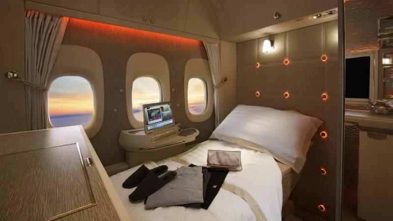 Tehnologija iz Star Treka fly emirates avion prva klasa