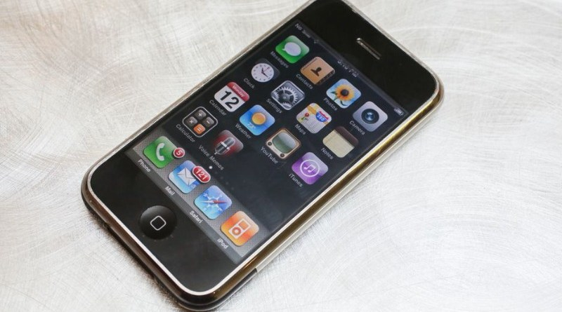 iphone 2007 smartphone apple prvi pametni telefon