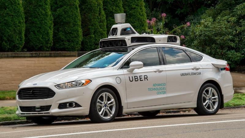 uber vozilo autonomno samovozeće automobil Ford focus