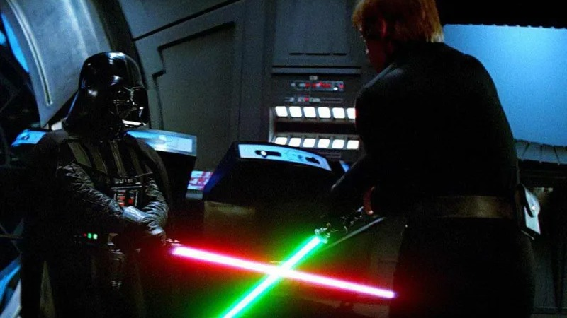 Star Wars svetlosni mač Darth Vader