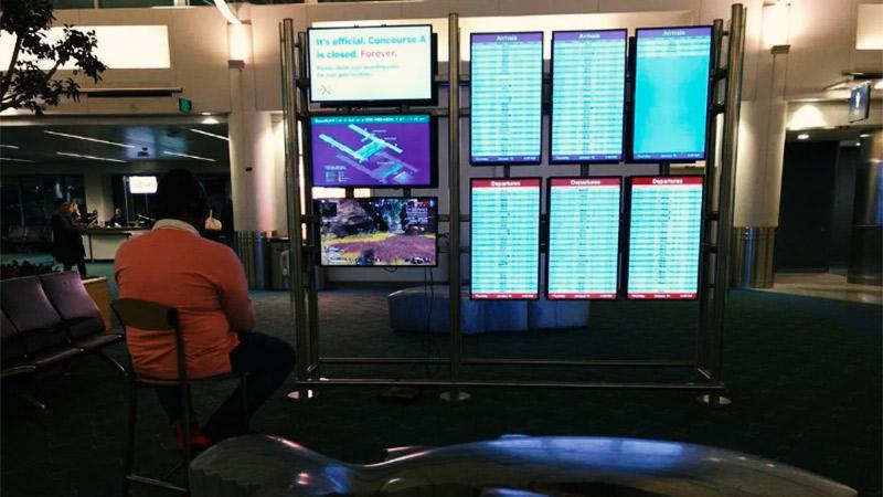 Gejming i kriminal: Kad monitori na aerodromu služe za igranje