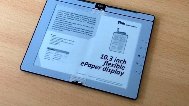 Preklopni e-ink eBook čitač