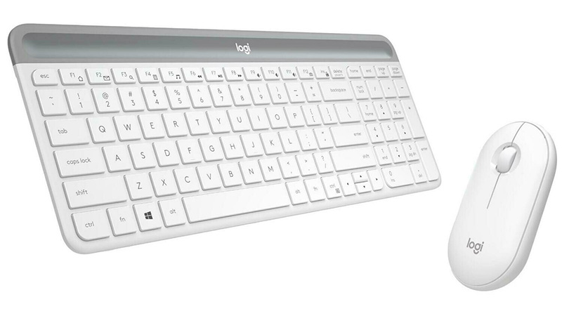 Review: Logitech Slim Combo MK470 – Klik tišine