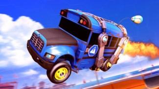 fortnite autobus u igri rocket league