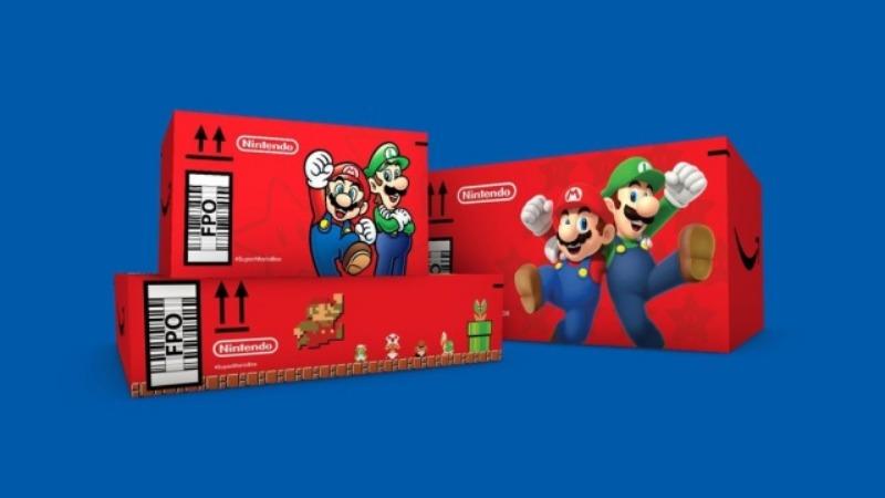 Amazon pravi Super Mario kutije