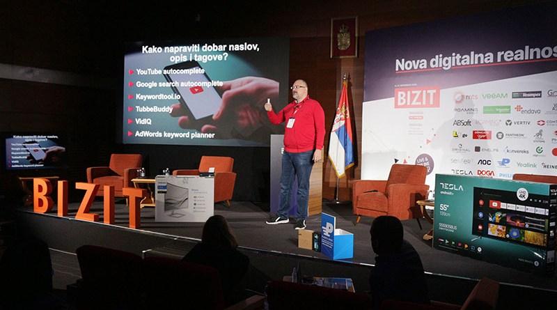 YouTube biznis platforma, Aleksandar Ašković | BIZIT2020