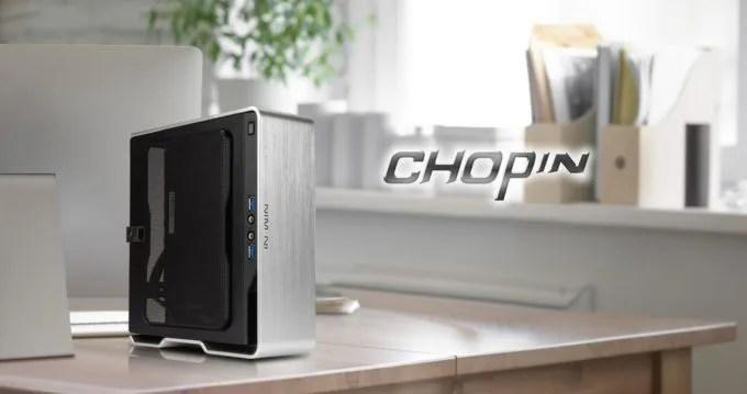 IN WIN Mini-ITXケース Chopin-Silver