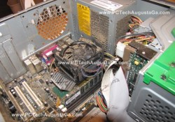 Compaq PC Disaster Burn Up