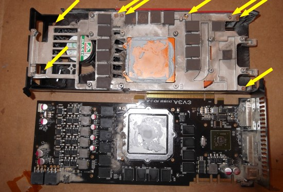 GTX 275 Heatsink Removal