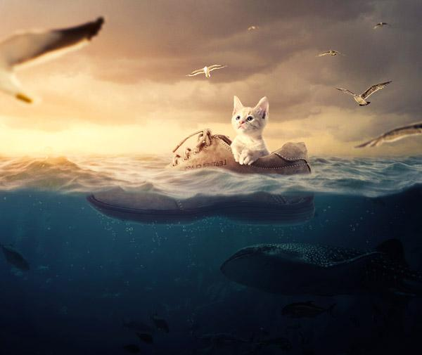 Creating a Surreal underwater Scene with Adobe Photoshop