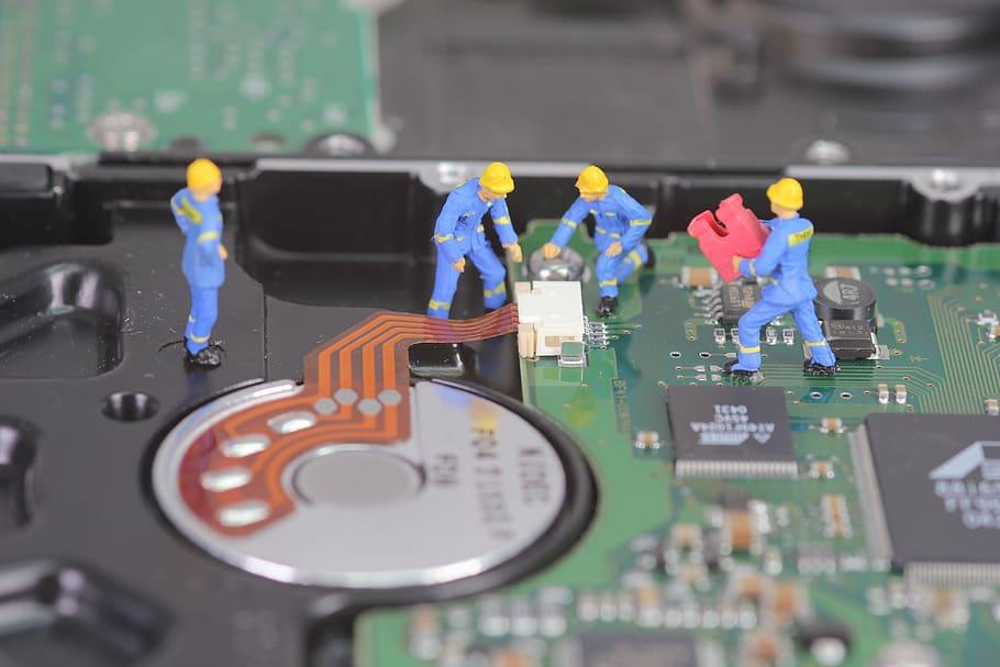 Recuperación de datos de discos duros | Rescate datos