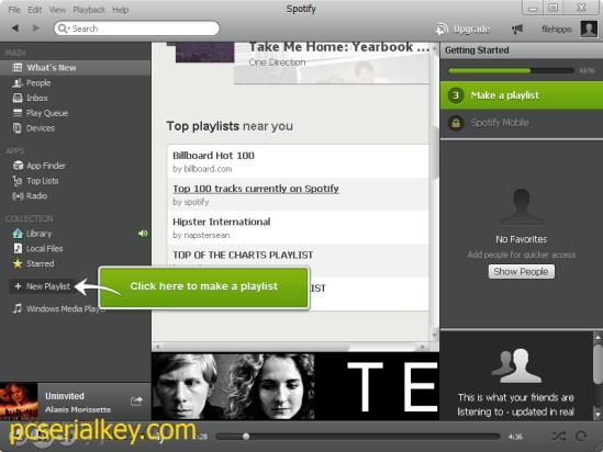 Spotify 1.0.89.313 Crack + Serial Key Free Download