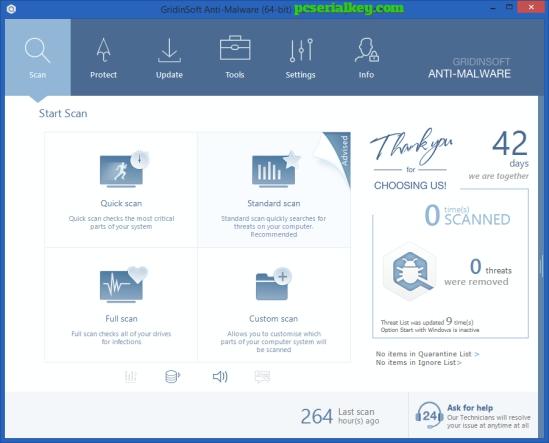 GridinSoft Anti-Malware 4.0.25