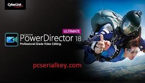 CyberLink PowerDirector 19 Crack With License Key Free Download