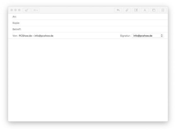 E-Mail schreiben mit Apple Mail App