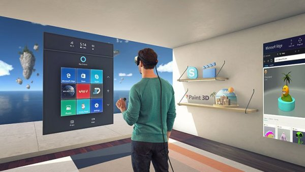 Windows 10 Creators Update mit Mixed Reality