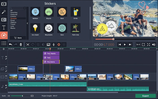 Movavi Video Editor Plus activation key