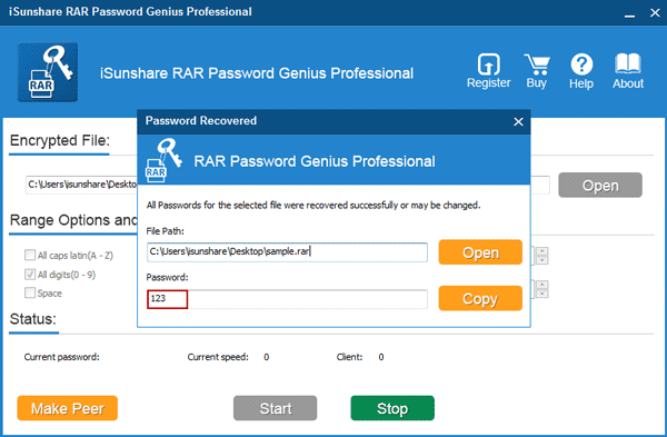 isunshare rar password genius crack