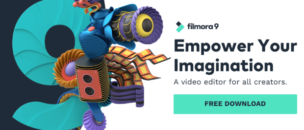 Filmora 9 free Download