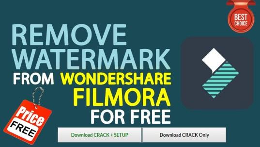 Remove Watermark From Wondershare Filmora
