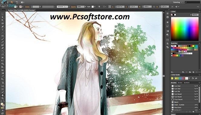 Adobe Illustrator CC 2021 (25.1.0.90) Crack + Key Download