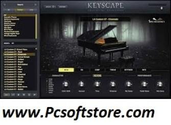 Keyscape 1.1.3c Crack + Torrent Free Keys Latest Download