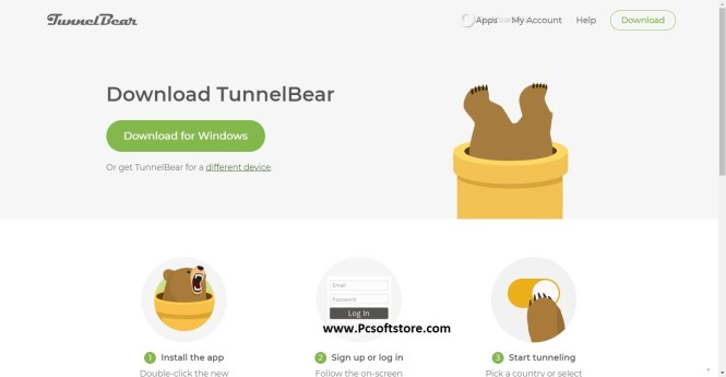 TunnelBear 4.4 Crack With Serial Key Free Download Latest