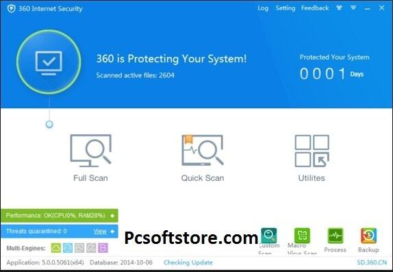 360 Total Security 10.8.0.1286 Crack License key Download